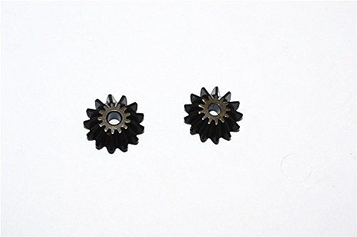 Traxxas E-Revo Upgrade Parts Steel Differential Spider Gears - 1Pr Set Black