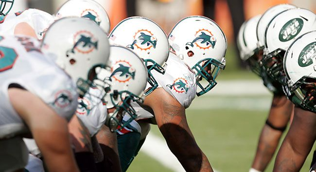 Miami Dolphin Football GAMES - once a year!!