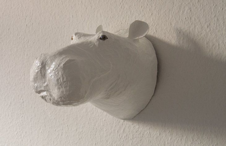 how to make a paper mache whale
