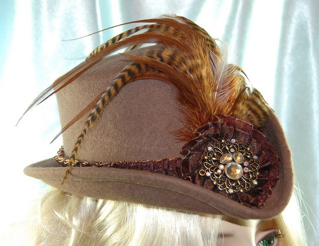 Victorian riding hat by Noxenlux