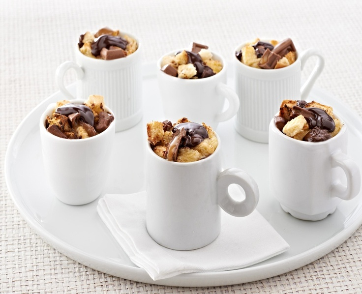 puddings individual chocolate souffles armagnac bread croissant bread ...