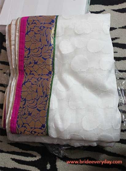 Loves Sarees ? Then check out this online saree store to save on time. Here is what I have got for myself :D