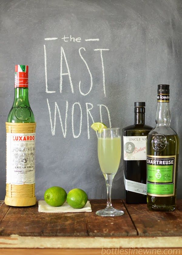 Last word chartreuse cocktail drink recipe fall beer for Cocktail chartreuse