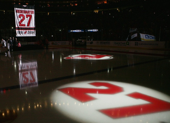 #27 was an influential player in the Devils organization.: Niedermay Photo, Jersey Devil, Devil Organizations