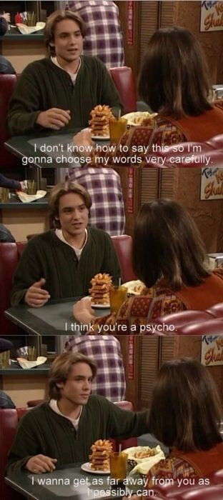 Boy meets world quotes - Eric is the least subtle person on TV