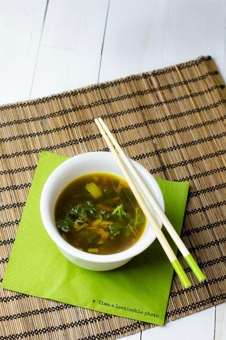 Zuppa di miso ricetta della salute