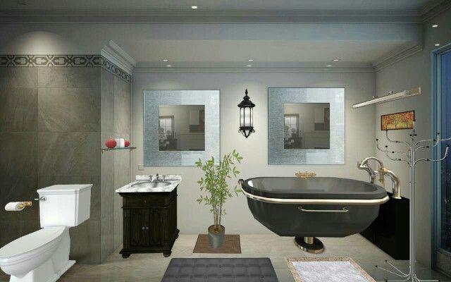 My first bathroom design: love it!