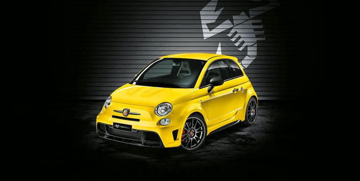 Abarth 695 Record Biposto Only 133 Units in World Front View
