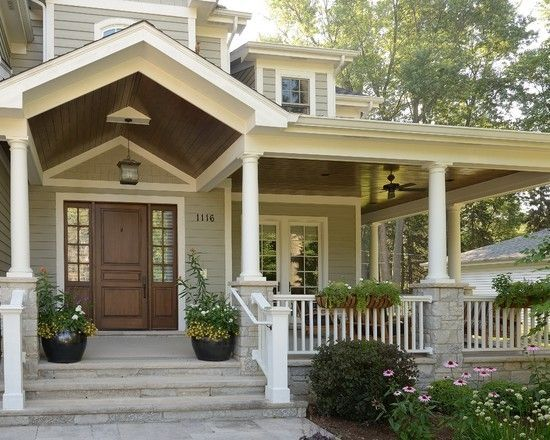 137289488615466186 home decor traditional entry house for Craftsman house plans with front porch