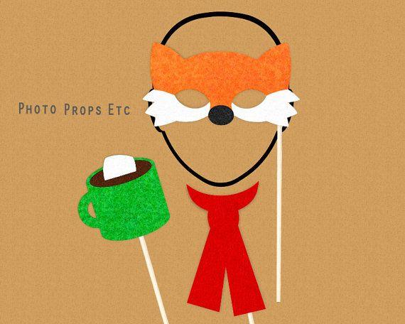 Bulletins d'enneigement hiver Photo Booth par PhotoPropsEtc sur Etsy