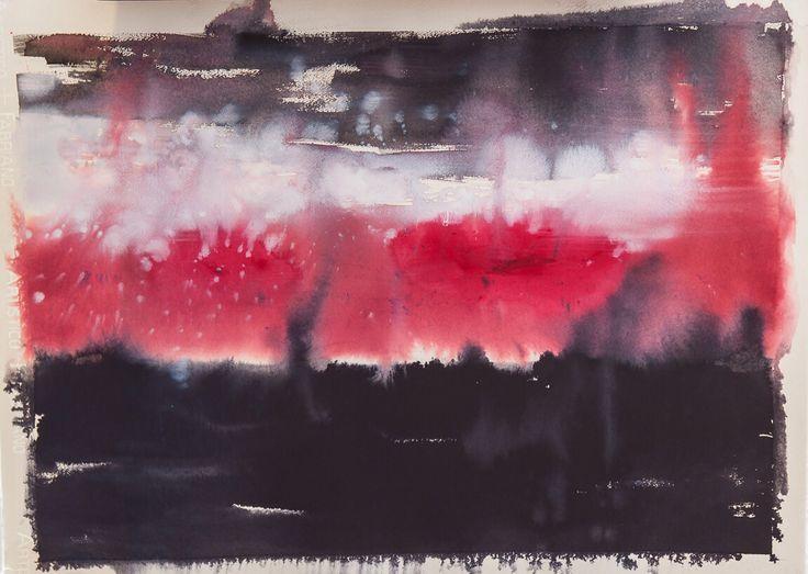 Ile De France (Ilaria Franza) water colour and ecoline. 65 x 80 cm Un.Limited 02