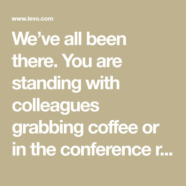 We've all been there. You are standing with colleagues grabbing coffee or in the conference room waiting for a meeting to start when someone mentions a phrase you've never heard of. Trying to play...