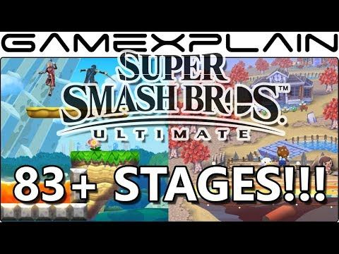 ANOTHER 8 Stages Found in Super Smash Bros  Ultimate! (An