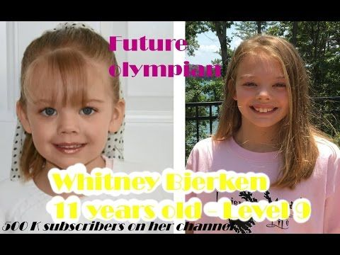 Level 9 at 11 years old - Future olympian gymnast ?! - YouTube