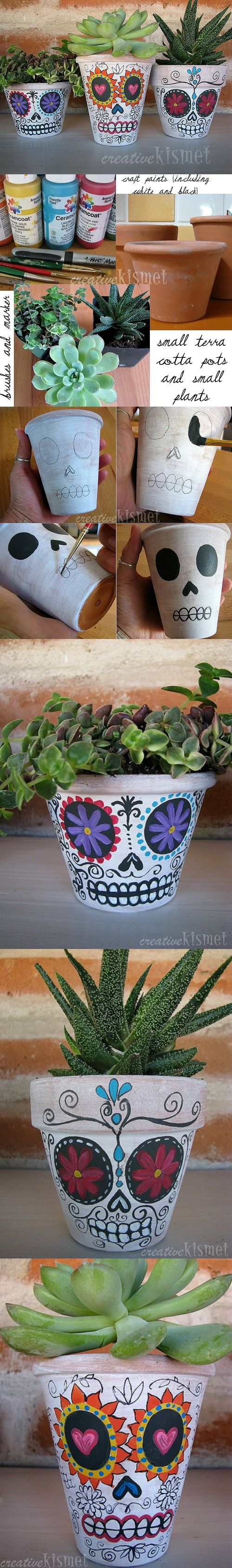 15 DIY Halloween Skull Decoration Ideas