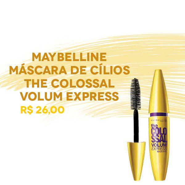 A coleção de máscaras para cílios da Maybelline Colossal se tornou referência no quesito maquiagem para os olhos, pois são eficientes e vendidas a preços baixos.