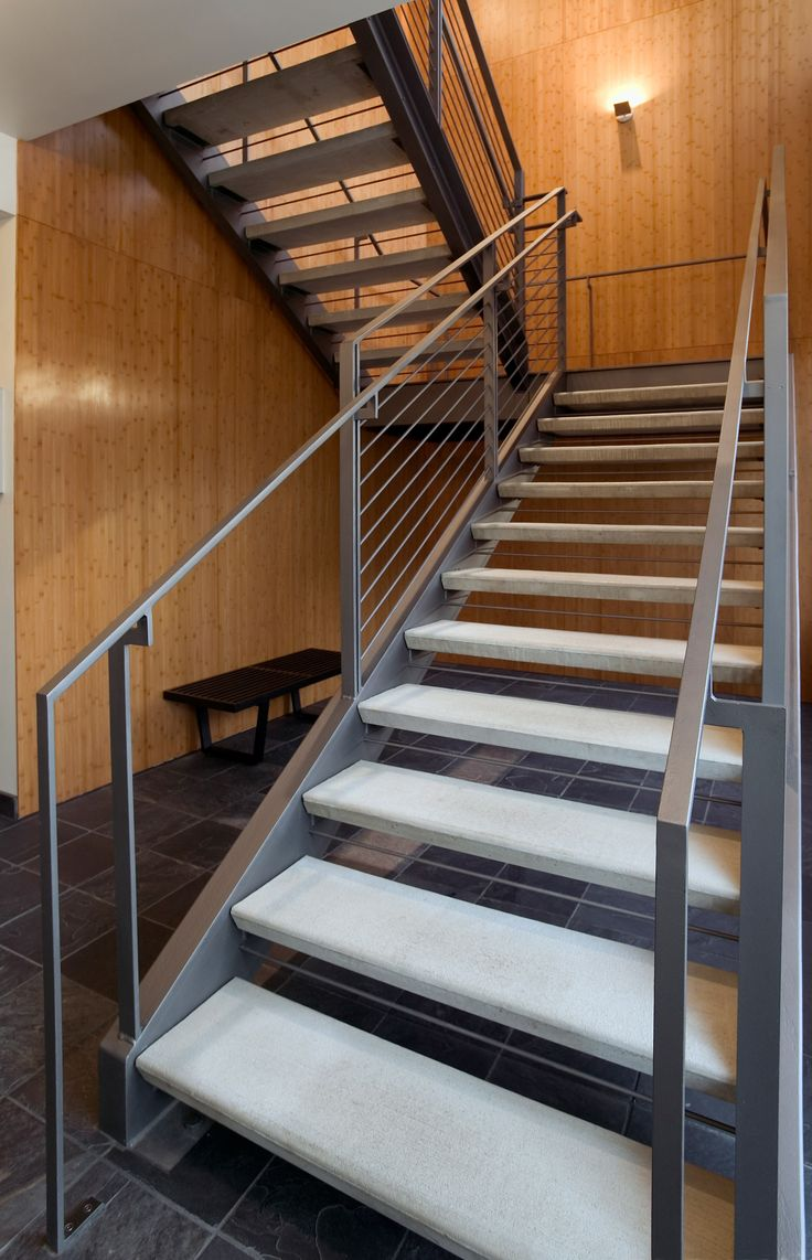 Best A Visual Guide To Stairs Modern Concrete Steps And Steel 640 x 480