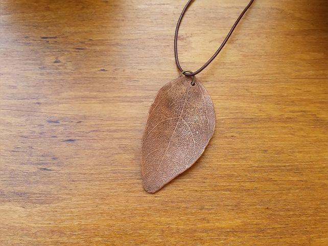 Skeleton Leaf Pendent  £26.00