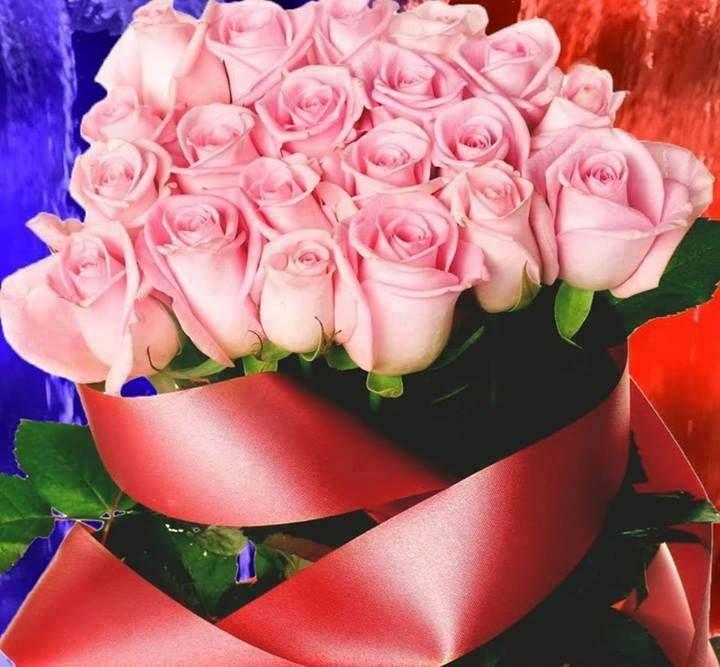 Μπουκέτο Ροζ τριαντάφυλλα !!!