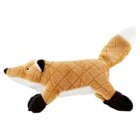 Vip Products Mighty Nature Fox Dog Toy Multicolor Black Fox