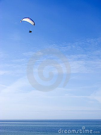 Paramotor Glider Over Ocean - Download From Over 28 Million High Quality Stock Photos, Images, Vectors. Sign up for FREE today. Image: 5018574