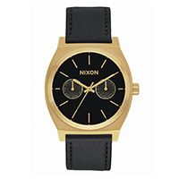 NIXON/THE TIME TELLER DELUXE LEATHER