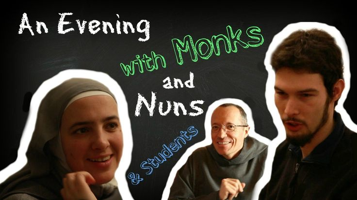 """Do you believe that God can create Family, wherever He wants? Feel free to join!  Thanks a lot to our dutch student friends for being part of this. This is a new video on our Channel """"A Minute With a Monk"""""""