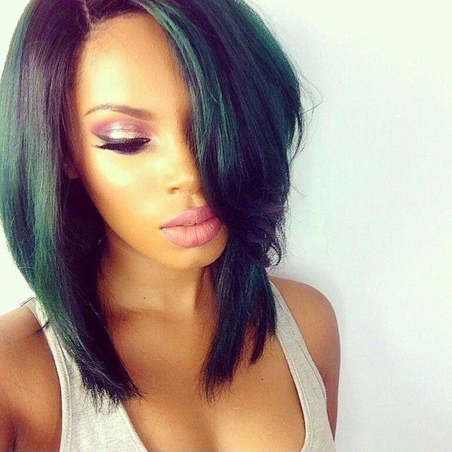 281 best hair weave images on pinterest plaits hair and google gq short bob wigs for black women human lace front wigsglueless full alce wigs remy hair bleached knots with natural baby hair pmusecretfo Gallery