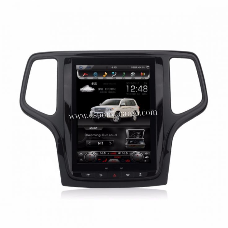 10.4'' Tesla Style Vertical HD Screen Android 6.0 Car GPS Intelligent Navigation For JEEP GRAND CHEROKEE 2014-