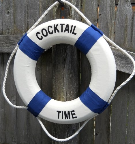 17 Quot Cocktail Time Life Ring Preserver Products I Love
