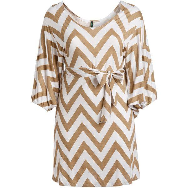Poliana Plus Desert Chevron Dolman Dress ($9.99) ❤ liked on Polyvore featuring plus size women's fashion, plus size clothing, plus size dresses, plus size, dolman-sleeve dresses, stretchy dresses, long dresses, zigzag dress and tie waist dress
