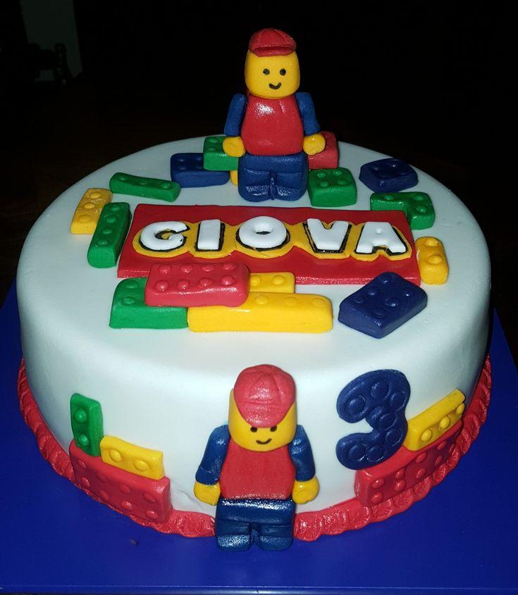 abbastanza Oltre 25 fantastiche idee su Torta lego su Pinterest | Compleanno  NE24