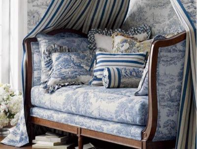 A Touch of Southern Grace ~ All Things Toile