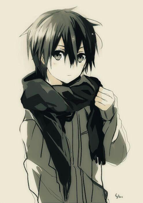 Cutest pic of Kirito ever!!                                                                                                                                                     More