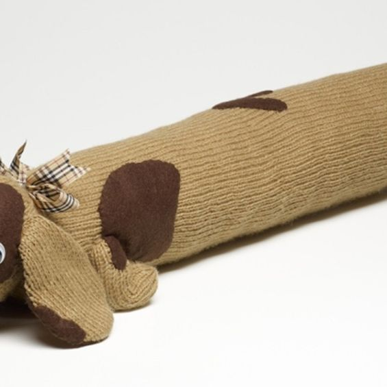 How to Knit a Dog Draught Excluder | Knitting, Knit purl ...