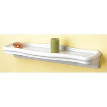 Sunrise Specialty 24 Inch Porcelain Bathroom Shelf