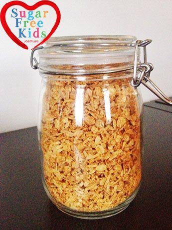Sugar Free ANZAC Biscuit Granola