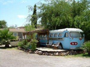The great American road trip is full of some expected stops–New Orleans, the Grand Canyon, Las Vegas–so why not stay somewhere unexpected? Across the country, creative camping sites are popping up with repurposed trailers, hot spring pools, historic sites and even a safari. Laura Lee Jurgens shares 10 of America's best and wackiest camping sites