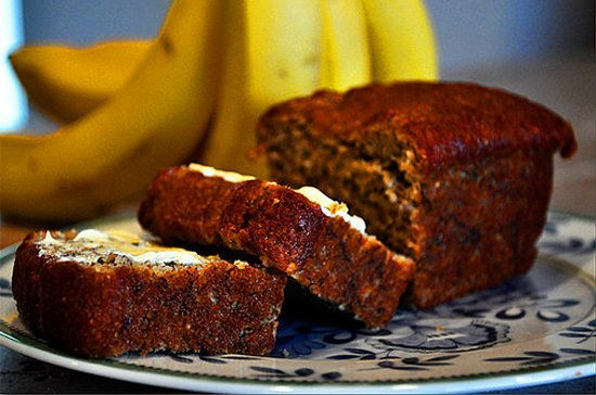 Omega-3 Banana Nut Bread : less sugar, more fiber, and an insane dose of heart-healthy omega-3s