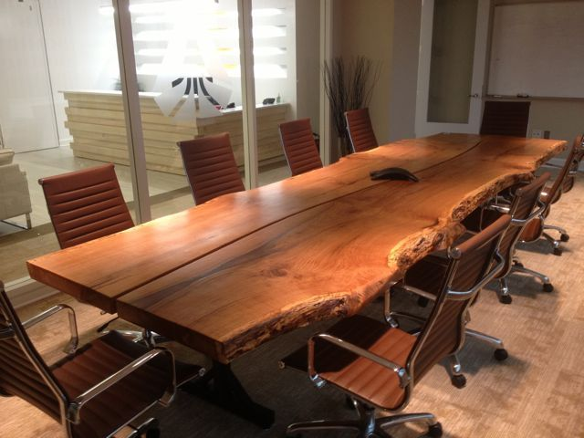 Check Out This Conference Table Made From Two 3 Inch