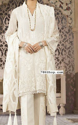 4632e346af Off-white Organza Suit | Buy Sapphire Pakistani Dresses and Clothing online  in USA, UK
