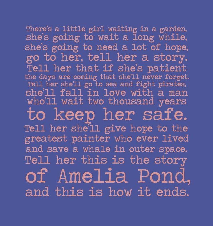 Amelia Pond's afterwardPonds Farewell, Farewell Ponds, Farewell Letters, Doctors, Cry Everytime, Amelia Ponds Sniff, Dr. Who, Gonna Cry, Amy Ponds