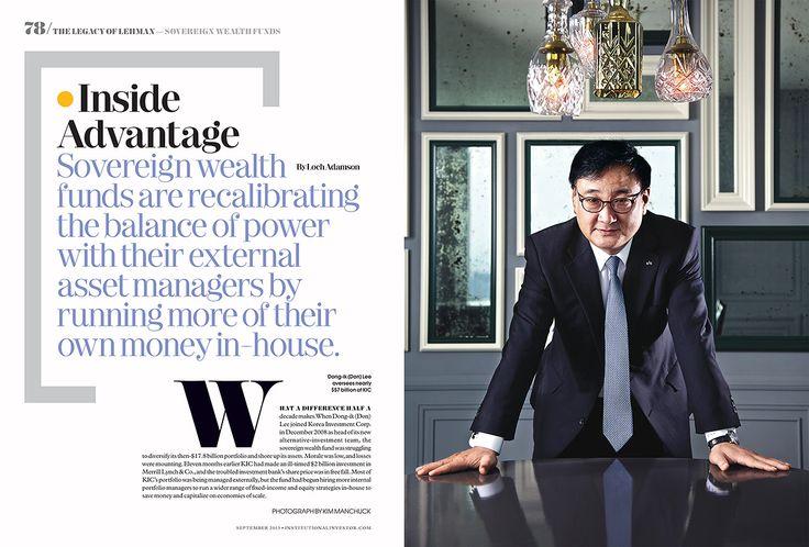 institutional investor magazine - spread