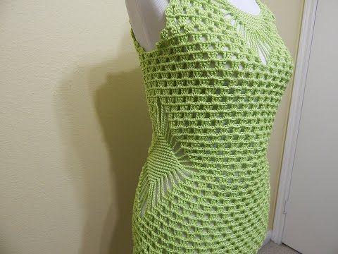 Blusa Verde Limon Crochet - YouTube