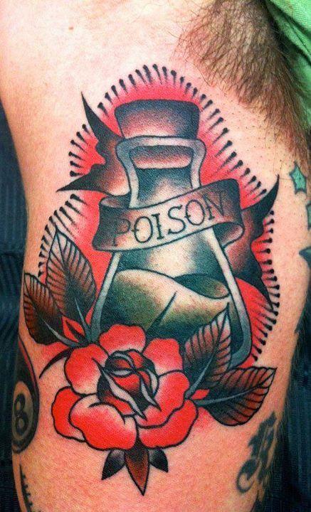 Potion Bottle Tattoo
