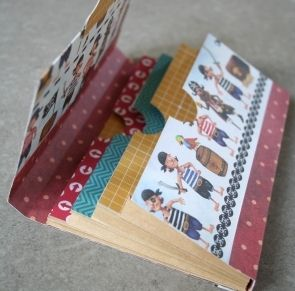 """DIY Scrapbooking """"La pochette multipoches"""" - How to make a surprise package"""