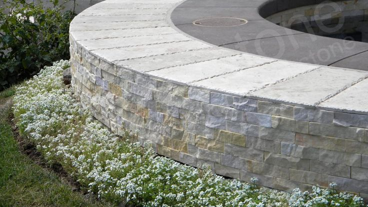 Stone Cladding with Curves - Norstone  #stonecladding
