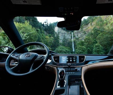 Sit back relax and take a moment to enjoy the view in the #Buick #LaCrosse.