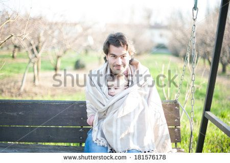Sweet Daddy and little son, on Shutterstock, by Annalisa Bombarda