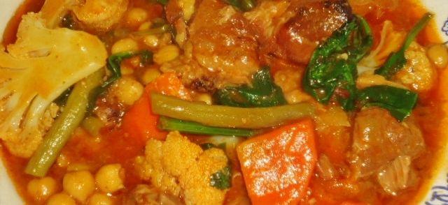 Heerlijk+pittig+goed+vullende+lamskerrie+waarbij+de+vitamines+ervan+afspatten.